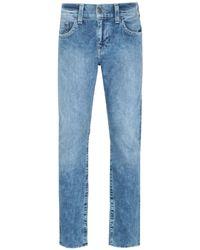 True Religion Rocky Straight Fit Blue Denim Jeans