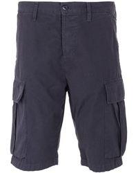 Edwin Jungle Ripstop Shorts - Black