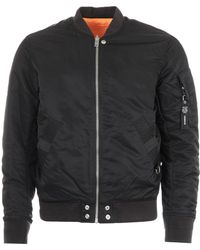 DIESEL J-ross Reversible Bomber Jacket - Black