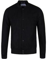 Farah Deep Black Kensington Bomber Jacket