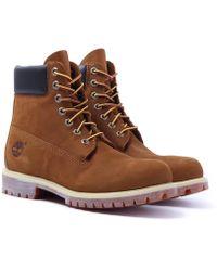 Timberland - Rust Nubuck 6-inch Premium Waterproof Boots - Lyst