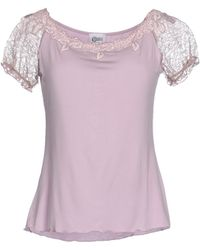 Christies Undershirt pink - Lyst