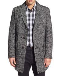 BOSS Orange - 'barrets' Tweed Topcoat - Lyst