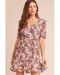 BB Dakota - Twirl Wind Printed Dress - Lyst