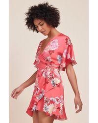 Lyst - Erdem Kirsten Half-sleeve Sheath Dress in Black 623ac893d