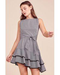 BB Dakota - Holly Golightly Gingham Dress - Lyst