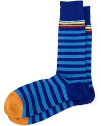 Paul Smith Multi 2 Stripe Socks - Lyst