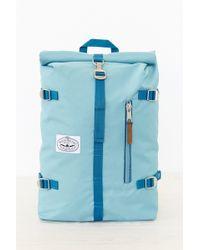 Poler Blue Rolltop Backpack - Lyst