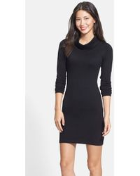 Tart Collections Cowl Neck Sweater Dress - Lyst