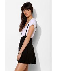 Sparkle & Fade - Suspender Mini Skirt - Lyst