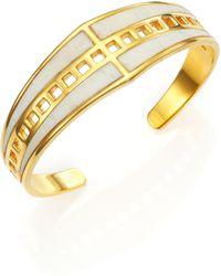A Peace Treaty - Rasa Bone Cutout Cuff Bracelet - Lyst