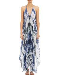 Viola Tie-Dye Maxi Dress - Lyst