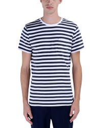 A.P.C. Short Sleeve T-Shirt white - Lyst