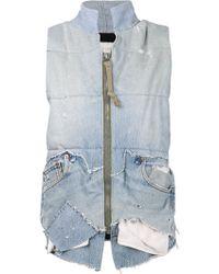 Greg Lauren The 501 Puffy Vest - Lyst