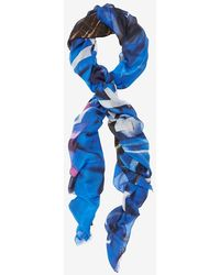 Yigal Azrouel Graphic Girl Explosion Print Scarf - Lyst