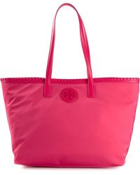 Tory Burch Zipped Up Tote - Lyst