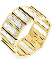 Swarovski Brancusi Gold-tone Bracelet - Lyst