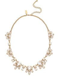 Kate Spade - 'chantilly Gems' Crystal Collar Necklace - Cream Multi - Lyst