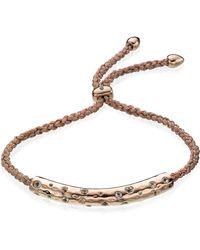 Monica Vinader Esencia Scatter Friendship Bracelet - Pink