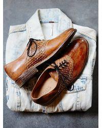Free People Denmar Saddle Shoe - Lyst