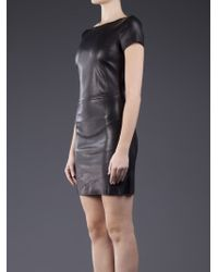 DROMe Leather Dress - Black