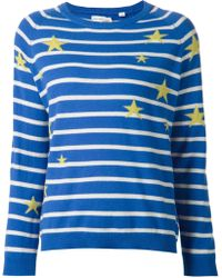 Chinti & Parker 'Blue Stars And Stripes' Sweater - Lyst