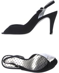 Anne Klein Sandals black - Lyst