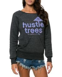 LRG - The Hustle Trees Crewneck - Lyst