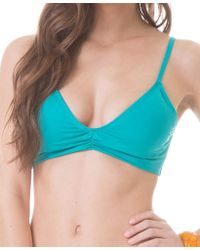 Faherty Brand Convertible Bra Top teal - Lyst