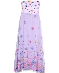 Ean 13 Knee-length Dress - Purple