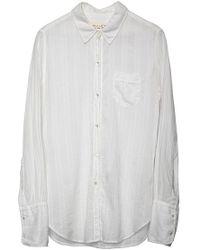 Nili Lotan | Nl Shirt White | Lyst