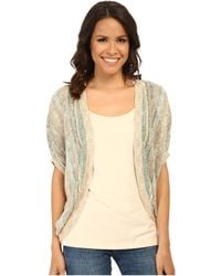 Nic+zoe Etched Cocoon Cardy - Lyst