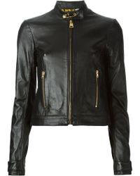 Versus  Fitted Safety Pin Jacket - Lyst