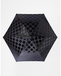Lulu Guinness - Ascot 2 Jumbo Dot Umbrella - Lyst