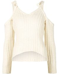 Rosie Assoulin   Cut-out Sweater   Lyst