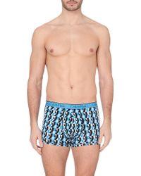 Calvin Klein Geometric-Print Trunks - For Men - Lyst