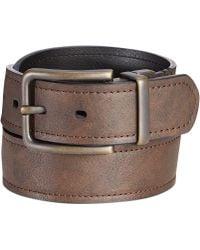Levi's Antique Brass Buckle Reversible Casual Belt - Lyst