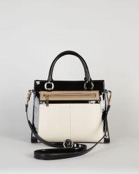 Karen Millen Tote Leather Colorblock - Lyst