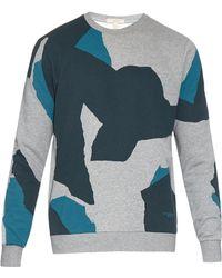 Burberry Brit - Silas Collage-print Cotton Sweatshirt - Lyst