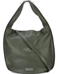 Marc By Marc Jacobs 'new Q Zippers Hillier Hobo' Tote - Green