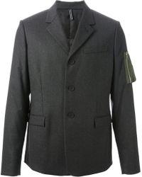 Dior Homme Sleeve Zipped Pocket Blazer - Lyst