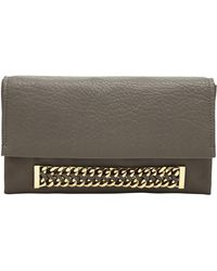 Vince Camuto   Zigy Mixed-Leather Clutch   Lyst