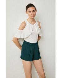BCBGMAXAZRIA - Bcbg Micah Pleated Shorts - Lyst