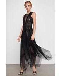 BCBGMAXAZRIA Bcbg Andi Lace Dress - Black