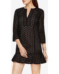 BCBGMAXAZRIA - Sofee Cotton Eyelet Tunic Dress - Lyst