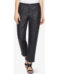 BCBGMAXAZRIA - Lucien Quilted Faux-leather Leggings - Lyst