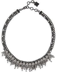 BCBGMAXAZRIA - Bcbg Clutter Stone Necklace - Lyst