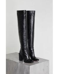 BCBGMAXAZRIA - Liviana Leather Boot - Lyst