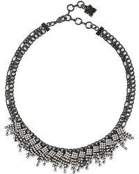 BCBGMAXAZRIA - Clutter Stone Necklace - Lyst