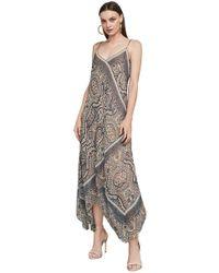 BCBGMAXAZRIA - Chloey Vintage Brocade Slip Dress - Lyst